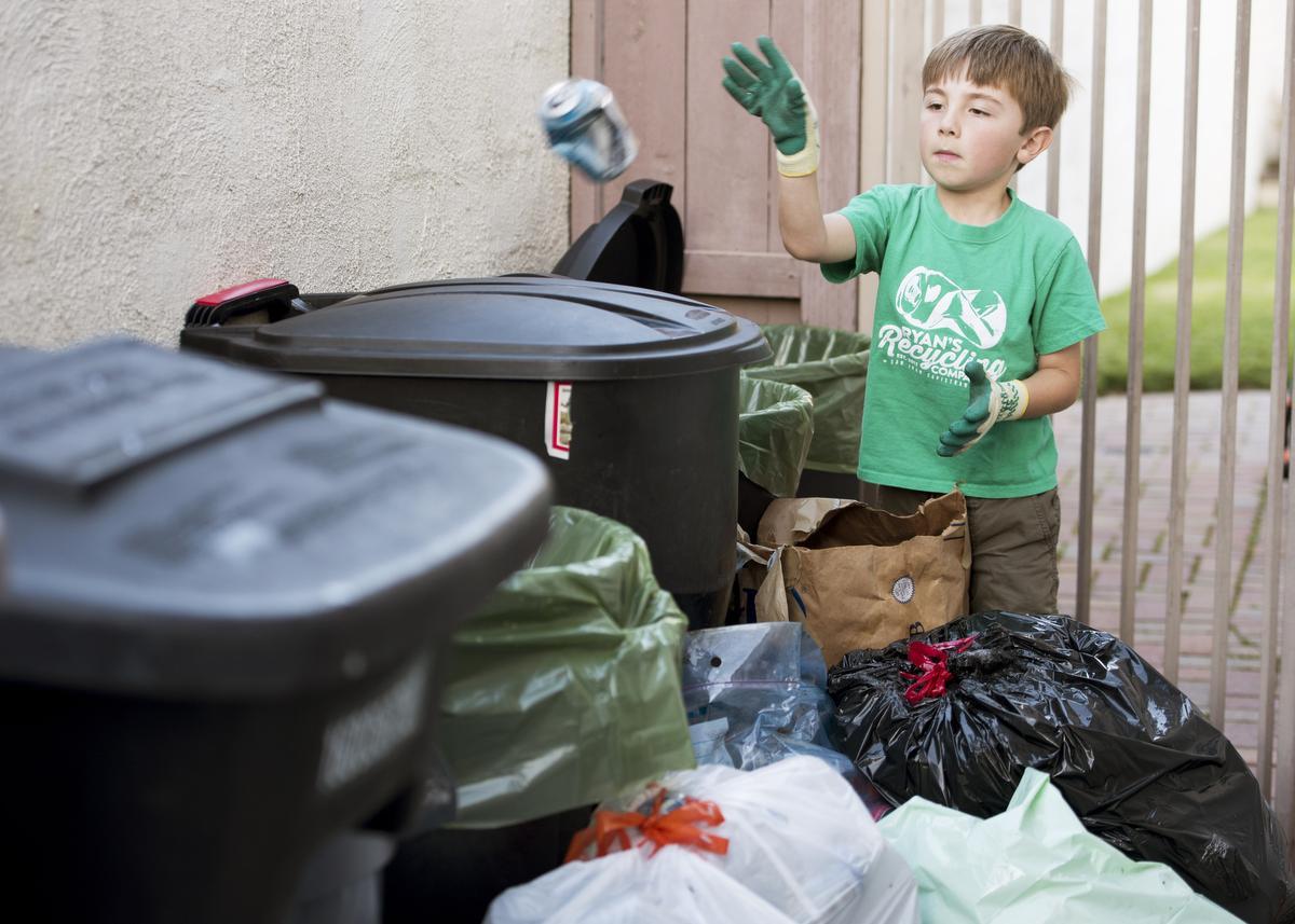 Блог им. shance: Перерабатывающая компания Райана…: Раздельный сбор мусора, сортировка, переработка